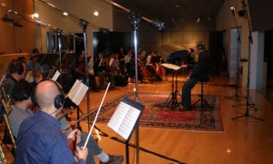 50 piece Orchestra film score session