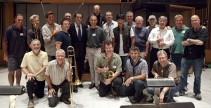 Big Band sessions at Capitol Studios, Hollywood
