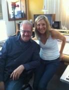 In the studio w/ Bonnie Hayes