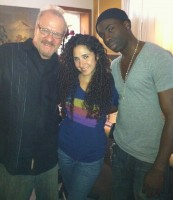 In the studio w/ Katrina & Sam Sarpong