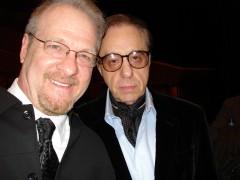 w/ Peter Bogdanovich - Rome Film Festival