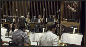 Capitol Studios Big Band recording session