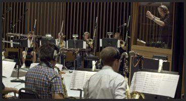 Nic. conducing Big Band @ Capitol Sutdios