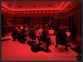 Nic. conducts Big Band