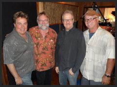 Nic. at recording session w/ Craig Stull, Jimmy Cox & Gordon Peeke